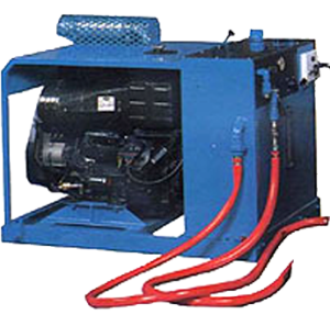 HYDRAULIC POWER UNIT FOR BRUSH-KART SYSTEM
