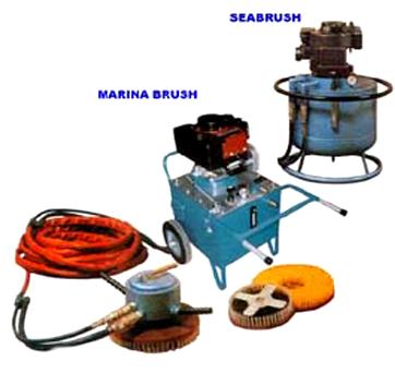 UNDERWATER HULL CLEANING - Phosmarine Brush Kart